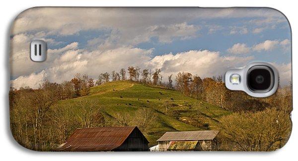 Shed Galaxy S4 Cases - Kentucky Mountain Farmland Galaxy S4 Case by Douglas Barnett