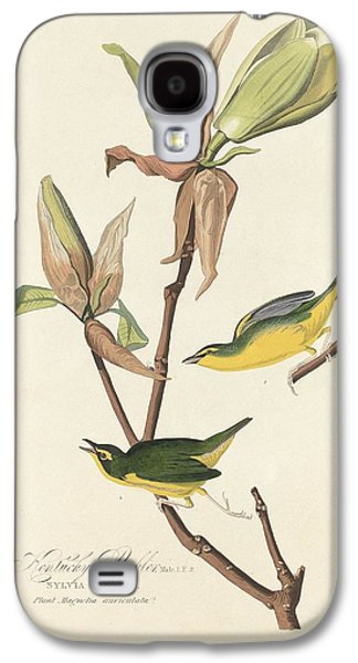 Kentucky Warbler Galaxy S4 Case by John James Audubon