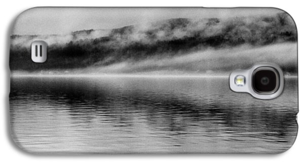 Grey Clouds Photographs Galaxy S4 Cases - Keuka Mists Galaxy S4 Case by Joshua House