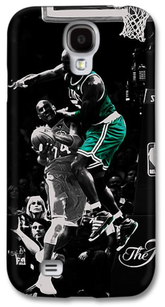 Kevin Garnett Not In Here Galaxy S4 Case by Brian Reaves