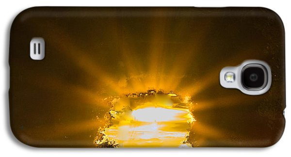 Light Tapestries - Textiles Galaxy S4 Cases - Key Light Galaxy S4 Case by James Hennis