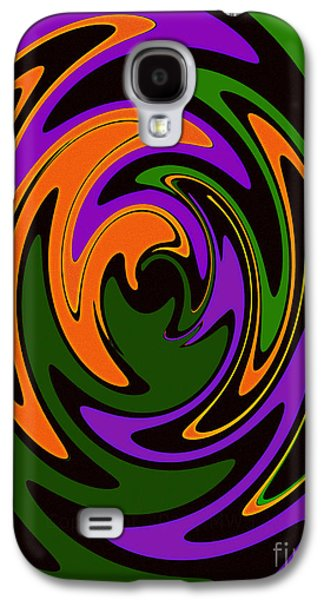 Recently Sold -  - Abstract Digital Galaxy S4 Cases - Keyhole Galaxy S4 Case by Mike Lewis