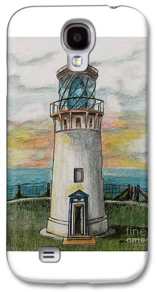 Kilauea Lighthouse Galaxy S4 Case by Linda Simon