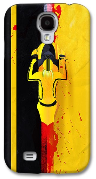 Blood Drawings Galaxy S4 Cases - Kill Bill minimalistic alternative movie poster Galaxy S4 Case by Lautstarke Studio