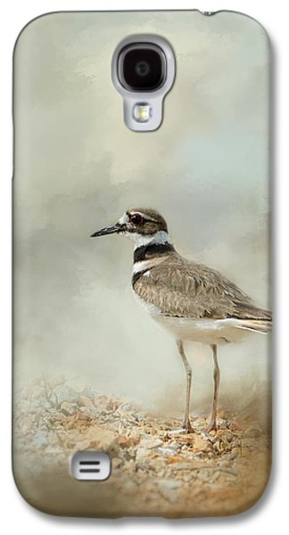 Deer At The Beach Galaxy S4 Cases - Killdeer On The Rocks Galaxy S4 Case by Jai Johnson