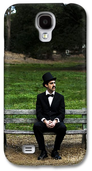 Disdain Galaxy S4 Cases - Killing Time Galaxy S4 Case by Ryan Jorgensen