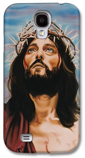 Jesus Pastels Galaxy S4 Cases - King of Kings Galaxy S4 Case by Debbie Fischer