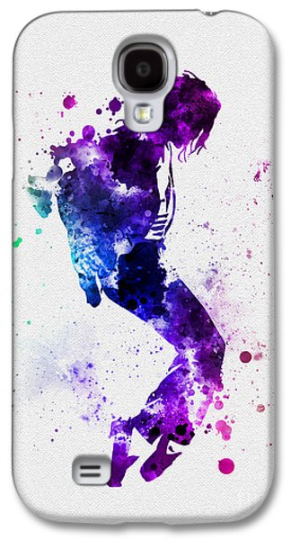 King Of Pop Galaxy S4 Cases - King of Pop Galaxy S4 Case by Rebecca Jenkins