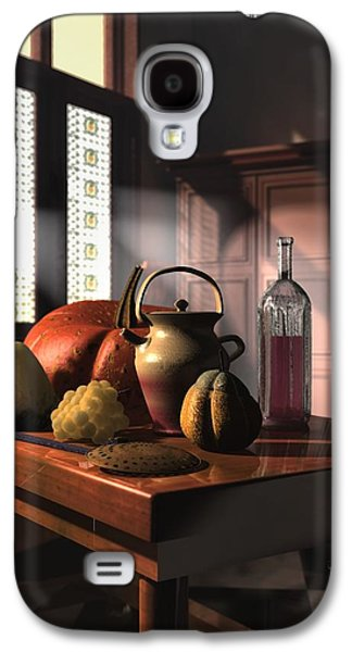 Still Life Sculptures Galaxy S4 Cases - Kinzeliin Still Life 1 Galaxy S4 Case by Dave Luebbert