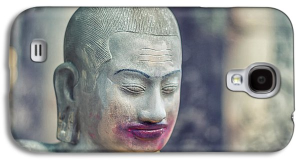 Ancient Galaxy S4 Cases - Kissing Buddha Angkor Wat  Galaxy S4 Case by Stylianos Kleanthous