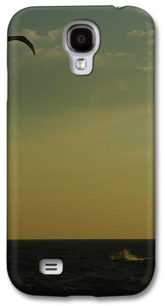 Kite Surfing Galaxy S4 Cases - Kite Surfer Galaxy S4 Case by Juergen Roth