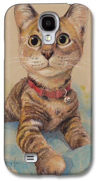 Kitten On The Loose Galaxy S4 Case by Tracie Thompson