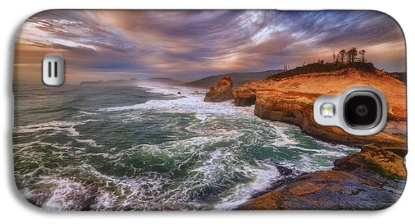Beach Landscape Galaxy S4 Cases - Kiwanda Views Galaxy S4 Case by Darren  White