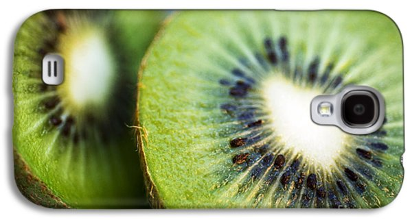 Kiwi Fruit Halves Galaxy S4 Case by Ray Laskowitz - Printscapes