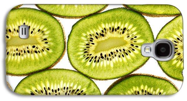Kiwi Fruit II Galaxy S4 Case by Paul Ge
