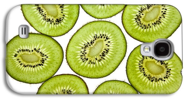 Studio Photographs Galaxy S4 Cases - Kiwifruit Galaxy S4 Case by Nailia Schwarz