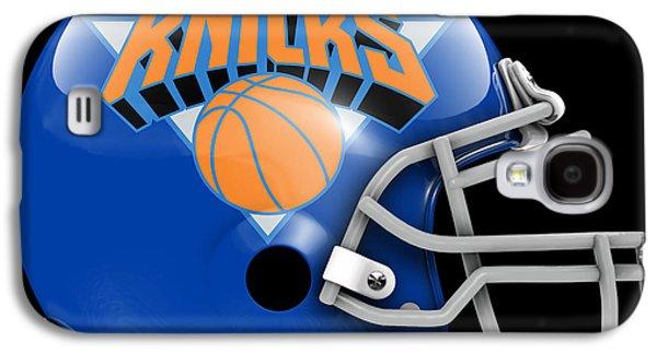 Knicks What If Its Football Galaxy S4 Case by Joe Hamilton