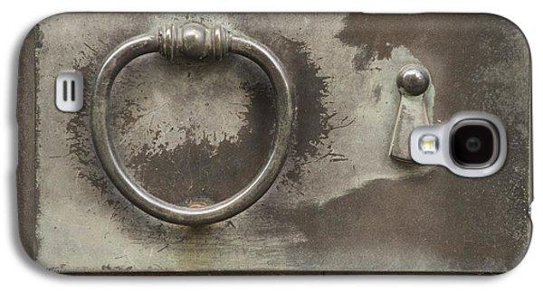 Entrance Door Galaxy S4 Cases - Knocker Galaxy S4 Case by Juli Scalzi