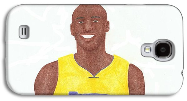 Bryant Drawings Galaxy S4 Cases - Kobe Bryant Galaxy S4 Case by Toni Jaso
