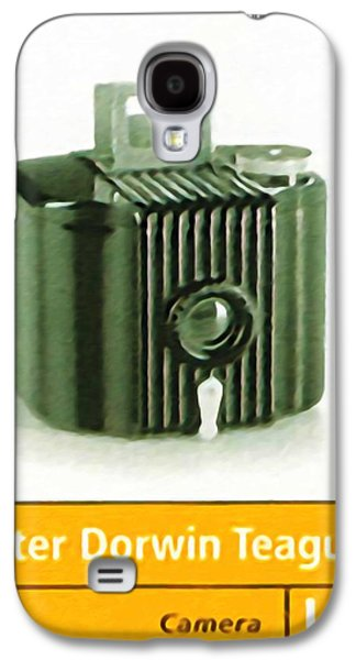 Old Pitcher Paintings Galaxy S4 Cases - Kodak Baby Brownie Camera Galaxy S4 Case by Lanjee Chee