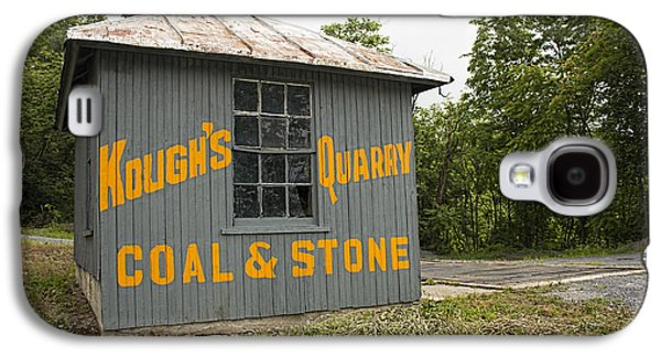 Business Galaxy S4 Cases - Koughs Quarry Coal and Stone Galaxy S4 Case by Kristia Adams
