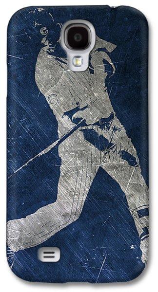 Kris Bryant Chicago Cubs Art Galaxy S4 Case by Joe Hamilton