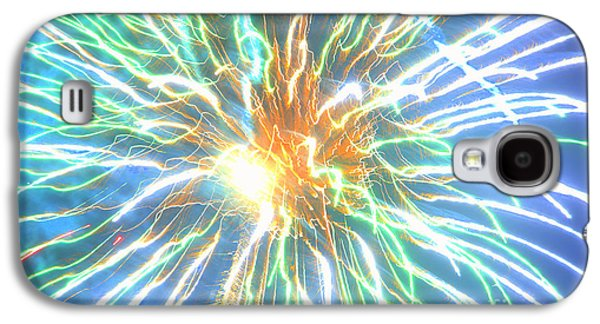 4th July Galaxy S4 Cases - Kundalini Awakening Galaxy S4 Case by Leah McPhail