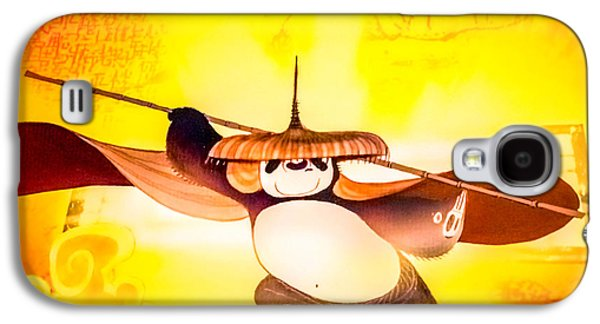Animation Galaxy S4 Cases - Kung fu Panda Galaxy S4 Case by Jijo George