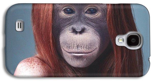 La Mona Lisa Galaxy S4 Case by Nestor Navarro