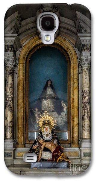 Pablo Galaxy S4 Cases - La Pieta Statue Galaxy S4 Case by Adrian Evans