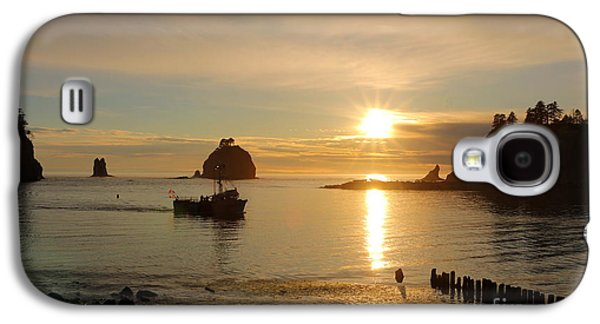Sunset Abstract Galaxy S4 Cases - La Push Sunset Galaxy S4 Case by Christiane Schulze Art And Photography