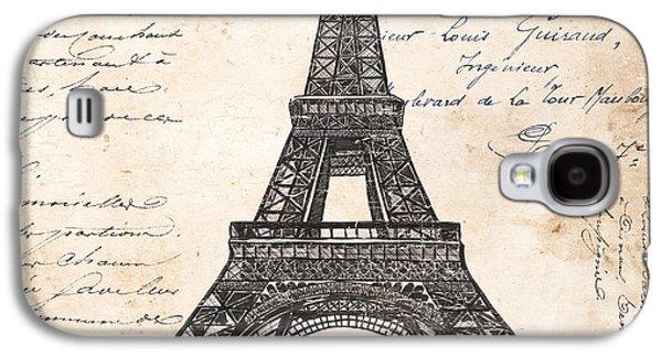 La Tour Eiffel Galaxy S4 Case by Debbie DeWitt
