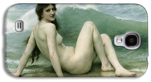 Beautiful Galaxy S4 Cases - La Vague Galaxy S4 Case by William Adolphe Bouguereau