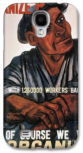 Working Class Galaxy S4 Cases - LABOR: POSTER, 1930s Galaxy S4 Case by Granger