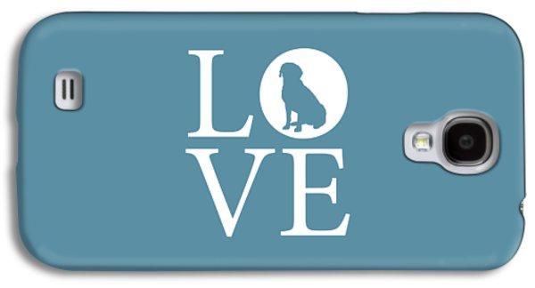 Labrador Love Galaxy S4 Case by Nancy Ingersoll