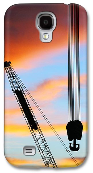 Recently Sold -  - Sunset Abstract Galaxy S4 Cases - Labuan Shipyard 2AM-117395 Galaxy S4 Case by Andrew McInnes