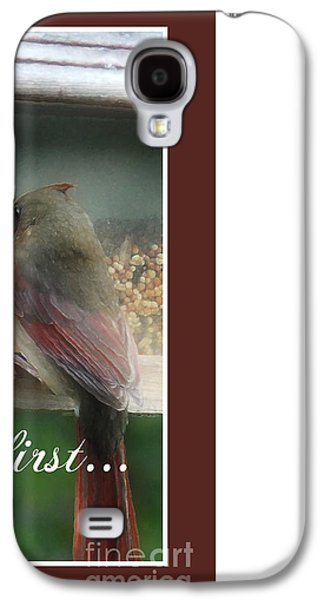 First Lady Digital Galaxy S4 Cases - Ladies First Galaxy S4 Case by Anita Faye