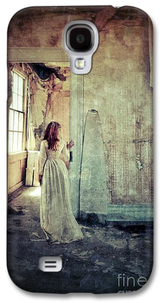 """""""haunted House"""" Galaxy S4 Cases - Lady in an Old Abandoned House Galaxy S4 Case by Jill Battaglia"""