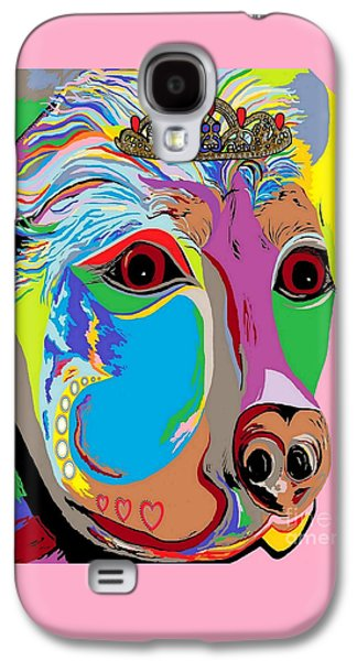 Puppy Digital Galaxy S4 Cases - Lady Rottweiler Galaxy S4 Case by Eloise Schneider