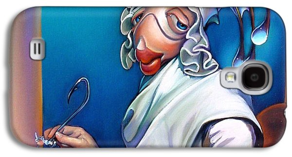 Lady Seabass Galaxy S4 Case by Patrick Anthony Pierson