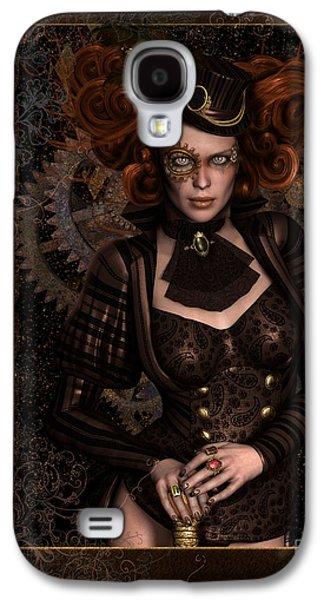 Lady Steampunk Galaxy S4 Case by Shanina Conway