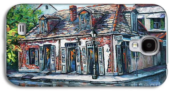 French Quarter Paintings Galaxy S4 Cases - Lafittes Blacksmith Shop Galaxy S4 Case by Dianne Parks