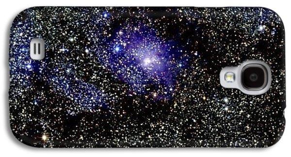 Birth Stars Galaxy S4 Cases - Lagoon Nebula Galaxy S4 Case by 2MASS project / NASA