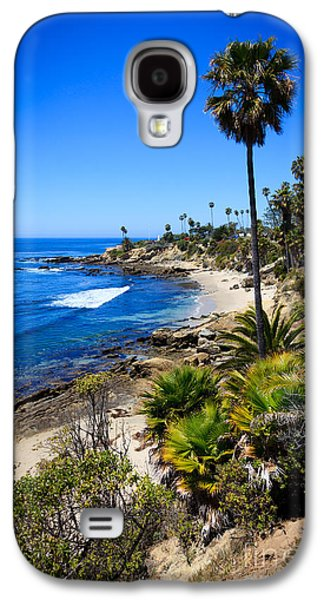 Getaway Galaxy S4 Cases - Laguna Beach California Beaches Galaxy S4 Case by Paul Velgos