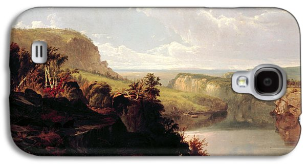Lake Among The Hills  Galaxy S4 Case by William Hart