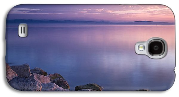 Landscapes Photographs Galaxy S4 Cases - Lake Constance Galaxy S4 Case by Silke Magino