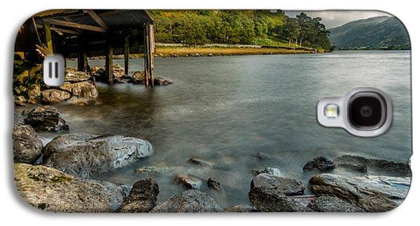 Dilapidated Digital Art Galaxy S4 Cases - Lake Gwynant Autumn Galaxy S4 Case by Adrian Evans