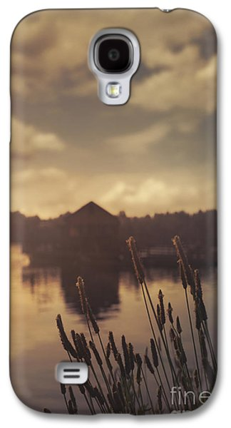 Transportation Pyrography Galaxy S4 Cases - Lake house Galaxy S4 Case by Jelena Jovanovic