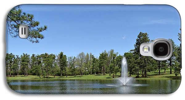Spring Scenery Galaxy S4 Cases - Lake in Spring Galaxy S4 Case by Sandy Keeton