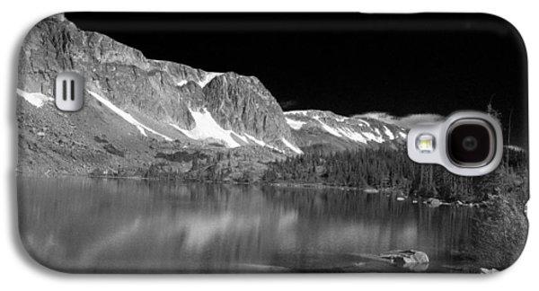 Autumn Landscape Glass Art Galaxy S4 Cases - Lake Marie and Company Galaxy S4 Case by Nena Trapp